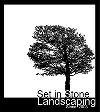 Set In Stone Landscaping Logo
